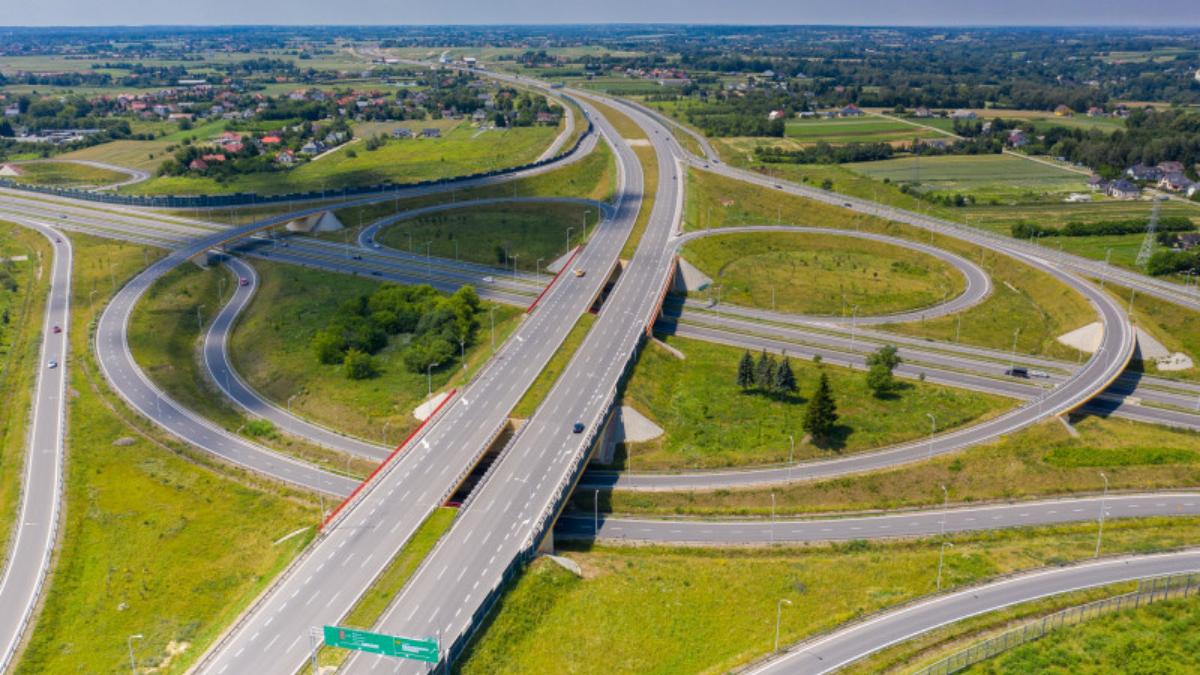 GDDKiA: drogi szybkiego ruchu w Polsce