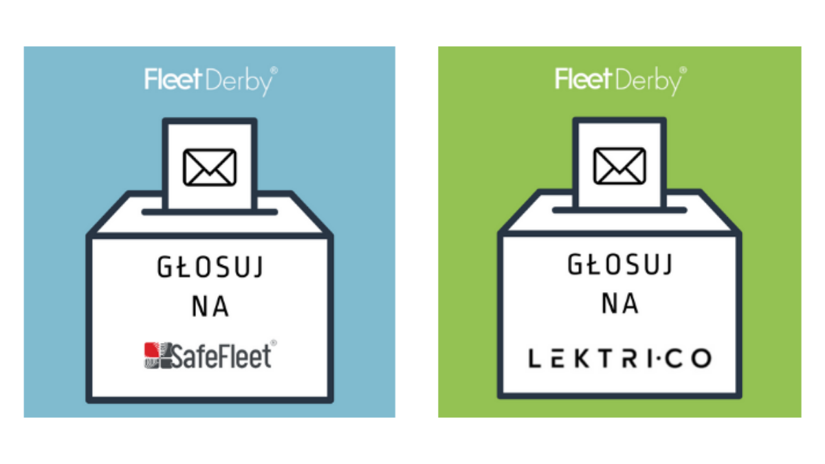 SafeFleet i Lektri.co w plebiscycie Fleet Derby 2021