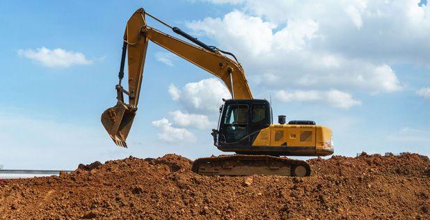 Monitoring GPS maszyn budowlanych