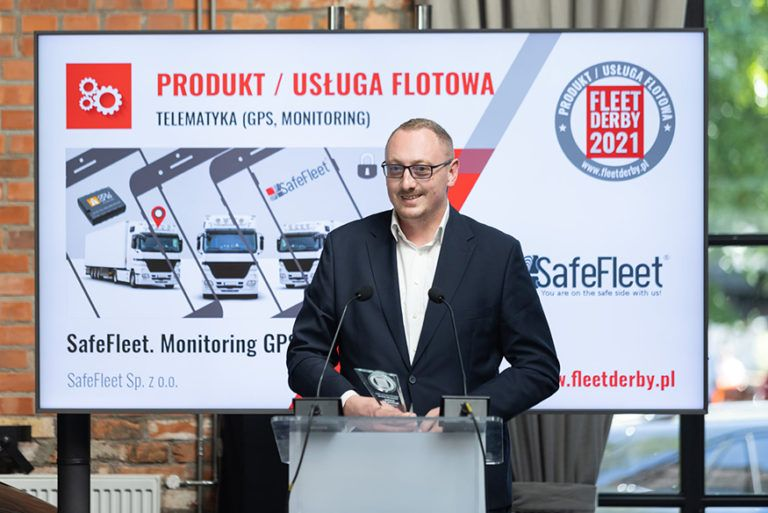 Read more about the article SafeFleet w gronie zwycięzców plebiscytu Fleet Derby 2021