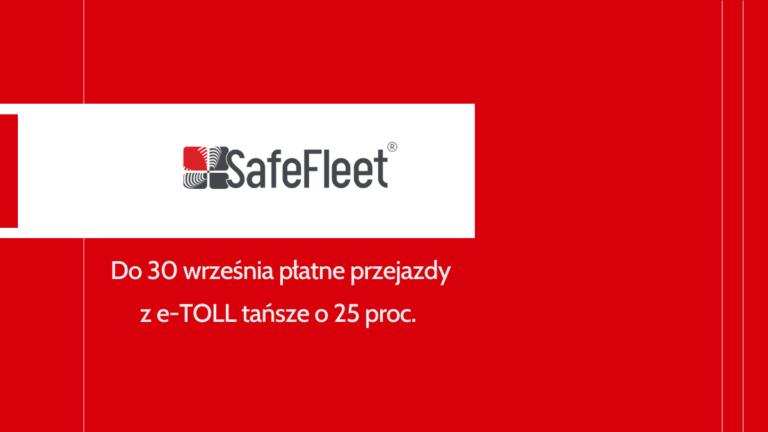 Read more about the article Do 30 września przejazdy z e-TOLL tańsze o 25 proc.